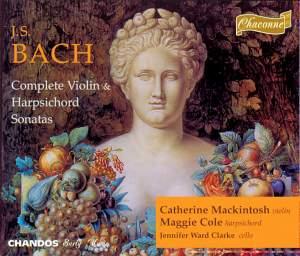 Bach - Complete Violin & Harpsichord Sonatas