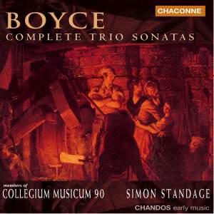Boyce - Complete Trio Sonatas