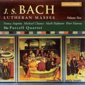 Bach - Lutheran Masses Volume 2