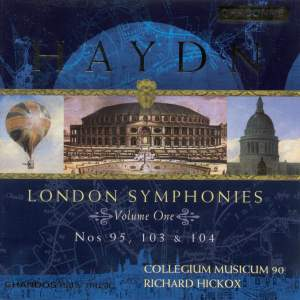 Haydn - London Symphonies Volume 1 Product Image