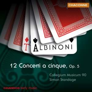 Albinoni: 12 Concerti a cinque, Op. 5 Product Image