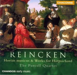 Reincken - Hortus musicus & Works for Harpsichord