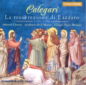 Calegari: La resurrezione di Lazzaro (The Raising of Lazarus)
