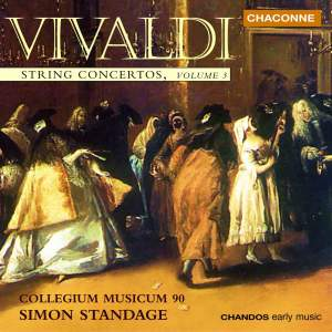 Vivaldi - String Concertos Volume 3