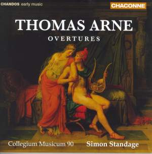 Arne - Overtures Product Image