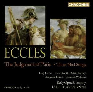 Eccles - The Judgment of Paris & Three Mad Songs