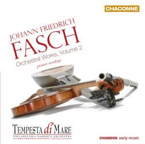 Fasch: Orchestral Works, Volume 2