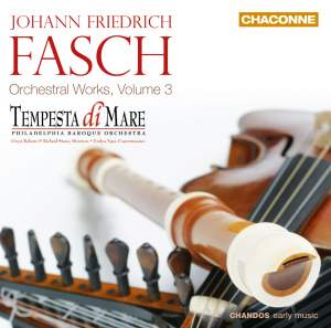 Fasch: Orchestral Works, Volume 3 Product Image