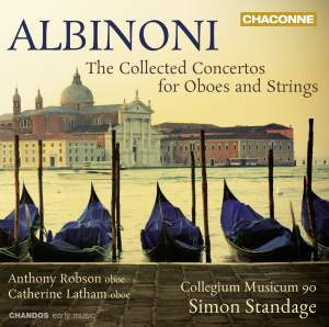 Albinoni: Concertos for Oboes and Strings