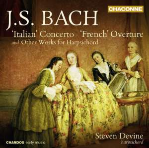 JS Bach: 'Italian' Concerto & 'French' Overture Product Image