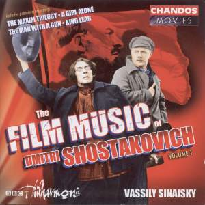 The Film Music of Dmitri Shostakovich, Volume 1