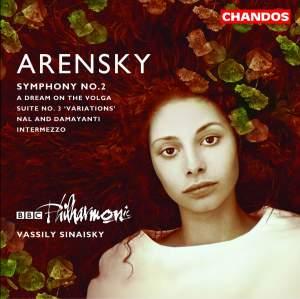 Arensky: Symphony No. 2 in A major Op. 22, etc.