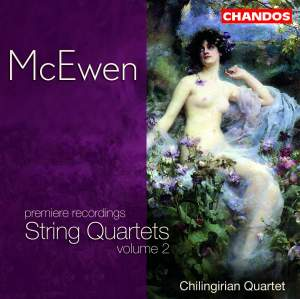 McEwen - String Quartets, Volume 2 Product Image