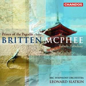 Slatkin conducts Britten & Colin McPhee Product Image