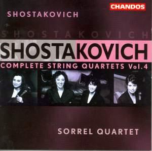 Shostakovich - Complete String Quartets Volume 4