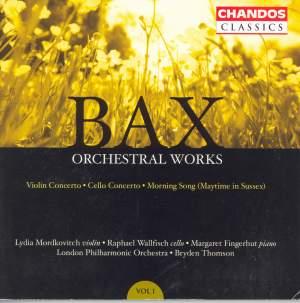 Bax - Orchestral Works Volume 1