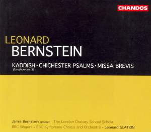 Bernstein: Symphony No. 3 'Kaddish', etc.