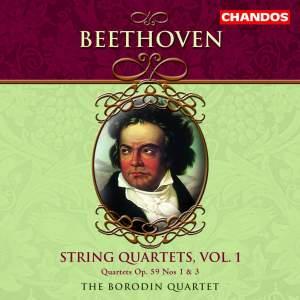 Beethoven - String Quartets Volume 1