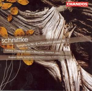 Schnittke: Symphony No. 6, etc. Product Image