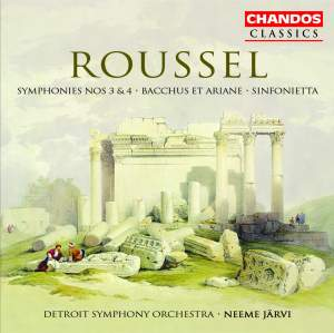 Roussel: Symphony No. 3 in G minor, Op. 42, etc.