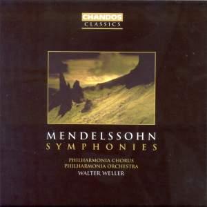 Mendelssohn - Complete Symphonies Product Image