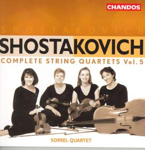 Shostakovich - Complete String Quartets Volume 5
