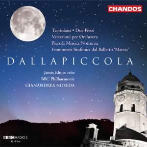 Dallapiccola - Orchestral Works Volume 1
