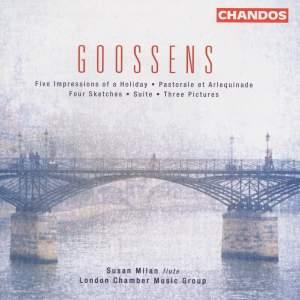 Goosens - Chamber works for flute