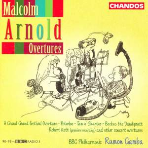 Malcolm Arnold Overtures