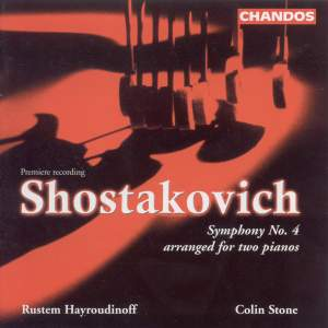 : Symphony No. 4 in C minor, Op. 43 (version for 2 pianos)