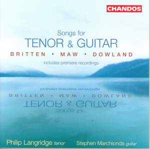 Songs for Tenor and Guitar