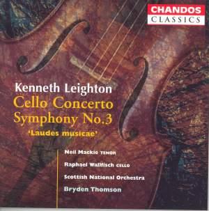 Leighton: Cello Concerto & Symphony No. 3