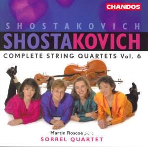 Shostakovich - Complete String Quartets,Volume 6