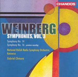 Weinberg - Symphonies Volume 3 Product Image