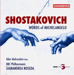Shostakovich - Words of Michelangelo