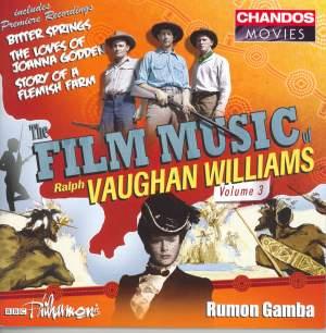 The Film Music of Ralph Vaughan Williams, Volume 3