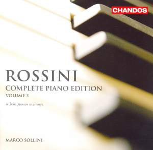 Rossini - Complete Piano Edition Volume 3