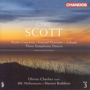 Cyril Scott - Orchestral Works Volume 3