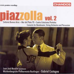 Piazzolla - Orchestral Works Volume 2
