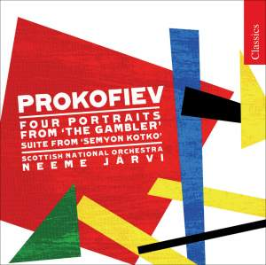 Prokofiev - Four Portraits from The Gambler