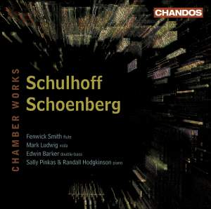 Schulhoff & Schoenberg - Chamber Works Product Image