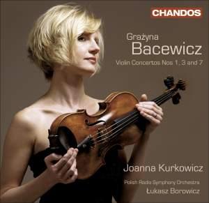 Grażyna Bacewicz: Violin Concertos, Volume 1