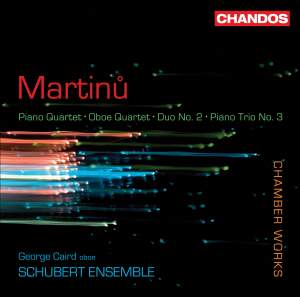 Martinu - Chamber Works Product Image