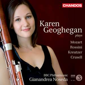 Karen Geoghegan: Works for Bassoon and Orchestra