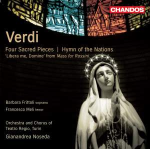 Verdi: Four Sacred Pieces & Hymn of the Nations