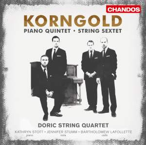 Korngold: String Sextet & Piano Quintet Product Image