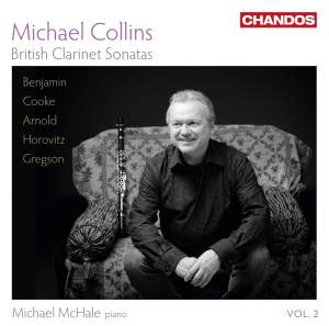 Michael Collins: British Clarinet Sonatas Volume 2