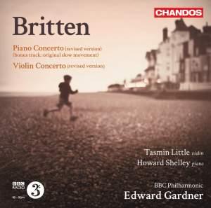 Britten: Violin Concerto & Piano Concerto Product Image