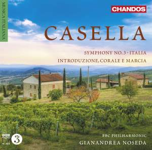 Casella: Orchestral Works Volume 3