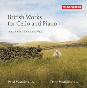 Paul Watkins - British Works for Cello and Piano, Volume 2